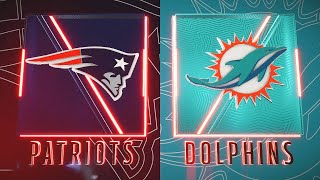 Madden NFL 20 - New England Patriots Vs Miami Dolphins Simulation (Madden 21 Rosters)
