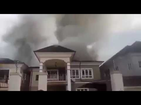 Oasis estate, Rukpakulusi, Port Harcourt is on fire right now