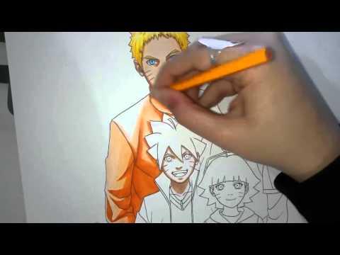 วาดรูป   naruto family ^^speed3เช่นเดิม