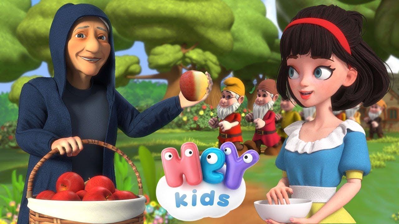 Blancanieves y los siete enanitos   Cuento corto para niños en Español - HeyKids