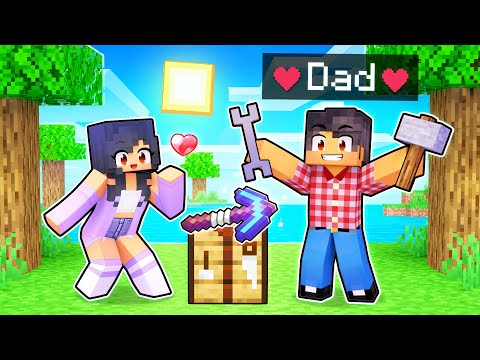My DAD Tries To Fix My Minecraft World!