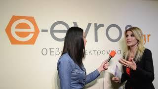 Η Βουλευτής A' Θεσσαλονίκης  Έλενα Ράπτη στο e-evros.gr - HD