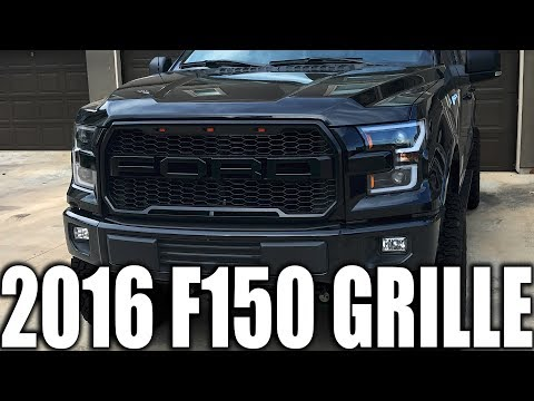 FORD F150 BEST MOD AND UPGRADE | AFTERMARKET GRILLE FOR 2015-2017