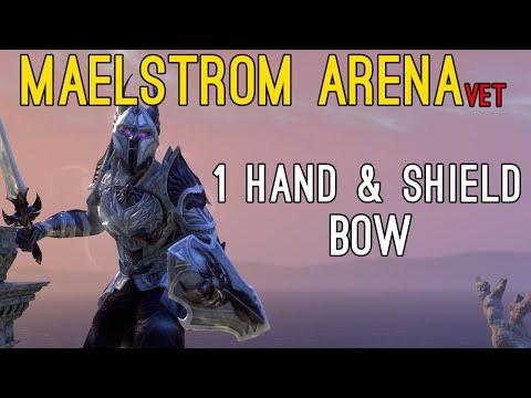 🔔Maelstrom Arena ONE HAND & SHIELD + BOW full run🔔 - Elder Scrolls Online ESO