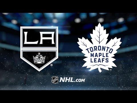 Andersen, Maple Leafs edge Kings, 3-2