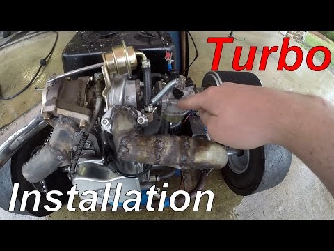 Turbocharging a 420cc Drift Trike