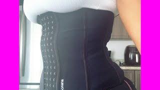 Get Snatched $28 waist trainer Amazon by BURVOGUE. Amazing Quality!