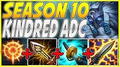 WTF?! SEASON 10 KINDRED ADC CAN'T LOSE LANE? ENERGIZED KINDRED BOT IS SO BUSTED! - League Of Legends
