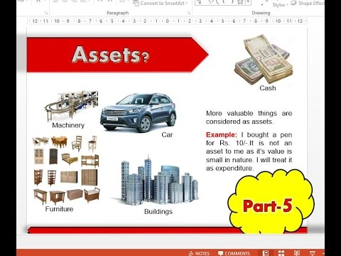 Accounting Basics part   5 Assets