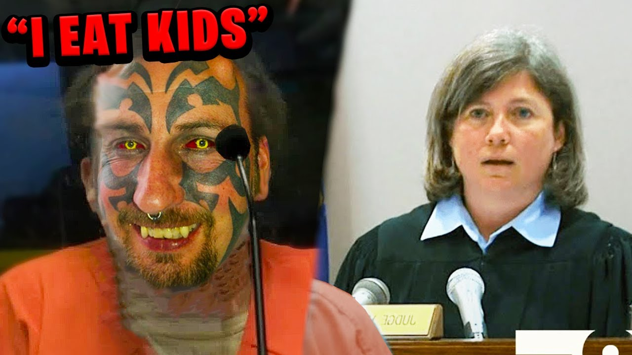 """This """"Devil Worshipper"""" Terrified the Judge.. (*MATURE AUDIENCES ONLY*)"""
