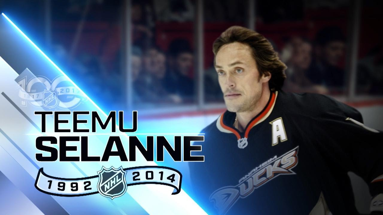 Teemu Selanne Scored Record 76 Goals As Rookie Youtube