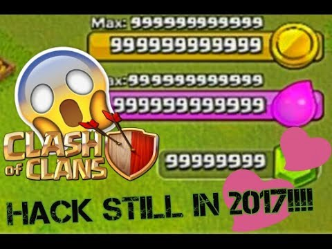 Clash Of Clans Hack Free Unlimited Gems No Root And Jailbreak Updated 2017