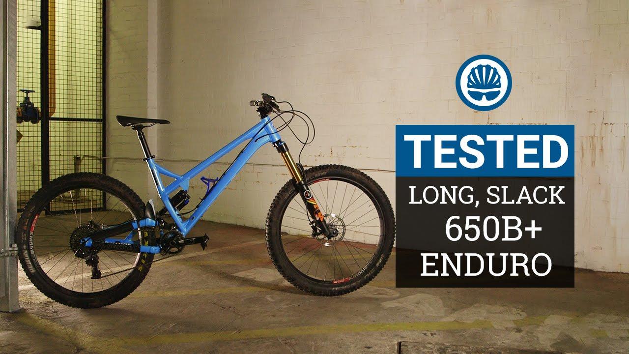 85f292f28e6 27.5+ Vs. 29er UPDATE - Long, Slack, Plus-Tyre Enduro Racing - YouTube