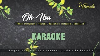 🎤 Karaoke Oh Ibu versi Gus Azmi   Lirik   #haneefLa