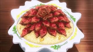 """блюда из аниме """"в поисках божественного рецепта"""" (7 серия)"""