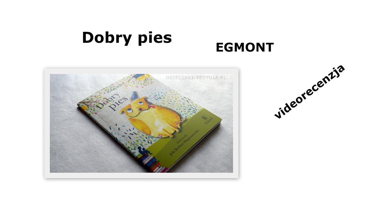 1854356dbe9d Dobry Pies - Egmont  videorecenzja książki  - YouTube
