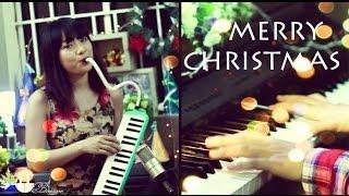 Xmas Medley | Tuyết rơi đêm Giáng Sinh & Joy to the world | Piano & Melodion | Bội Ngọc Piano