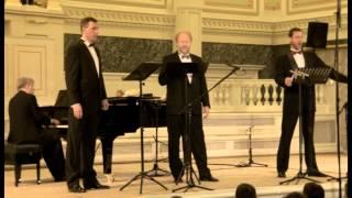 164. L. Denza: Funiculì, Funiculà. The Three Bassi Profundi. Arrangement by Vladimir Miller
