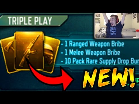 *NEW* GUARANTEED WEAPON SUPPLY DROP OPENING! NEW WEAPON BRIBE  BLACK OPS 3 SUPPLY DROP REACTIONS!