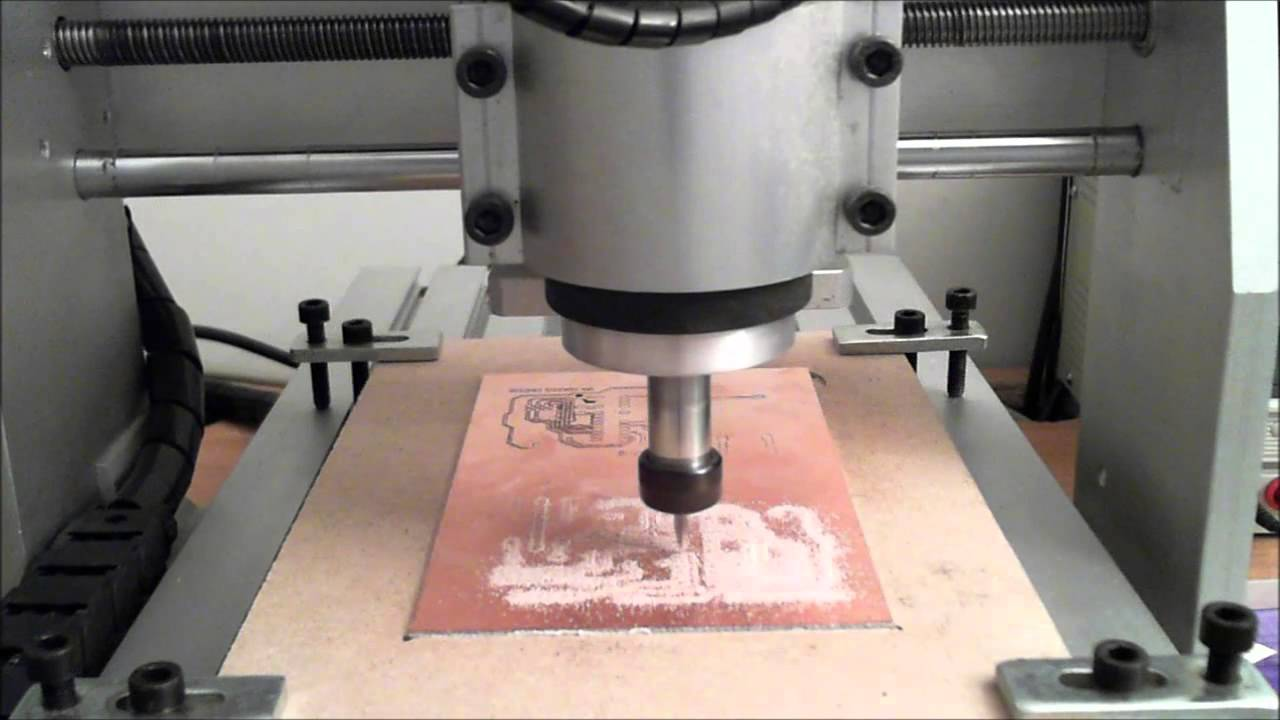 Isolation milling a PCB from start to finish