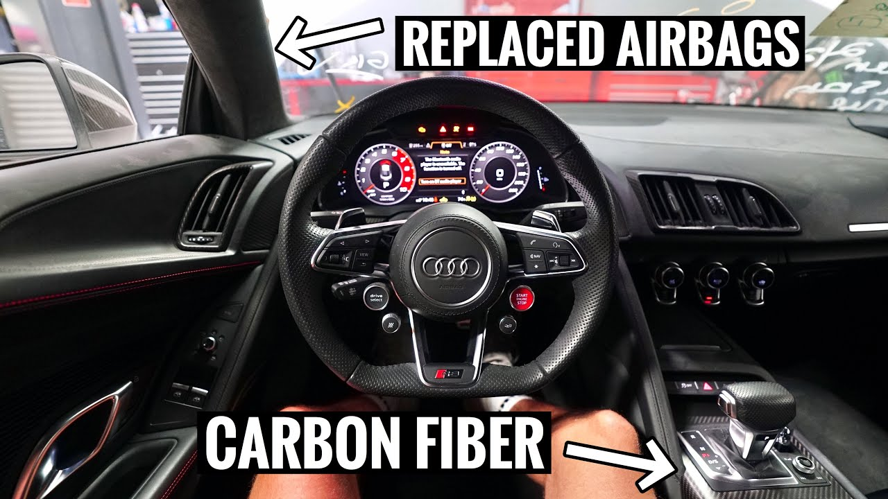 Audi R8 INTERIOR OVERHAUL! From Crashed to BRAND NEW!