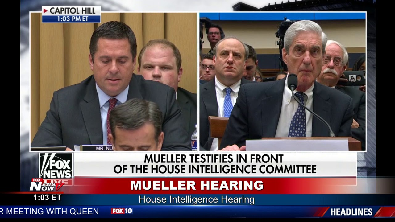 "WATCH: Devin Nunes Says Russia ""Hoax"" Has Gone On Too Long - Mueller Hearing"