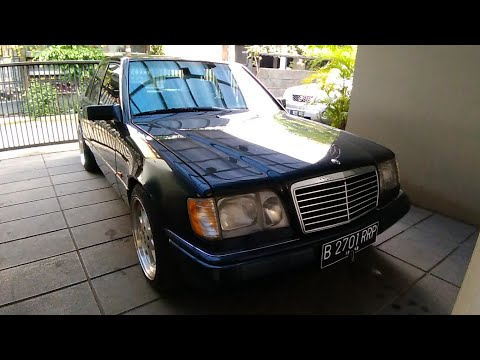 Mercedes-Benz E320 'Masterpiece' [W124] Start Up & Review Indonesia (REUPLOAD)