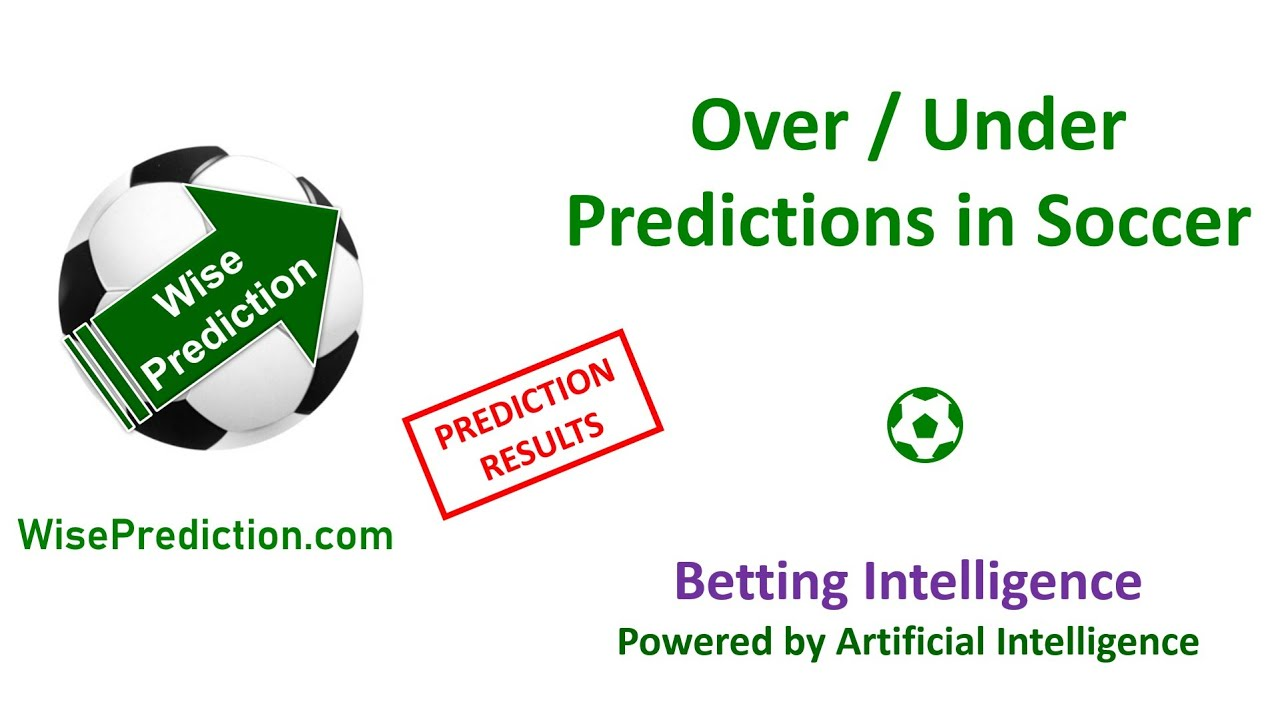 Over under betting soccer predictions binary options scalping software binary