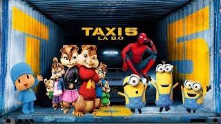 Die Algérino - Gut [Cartoon Version B Oder mit dem Taxi 5] بصوت السناجب