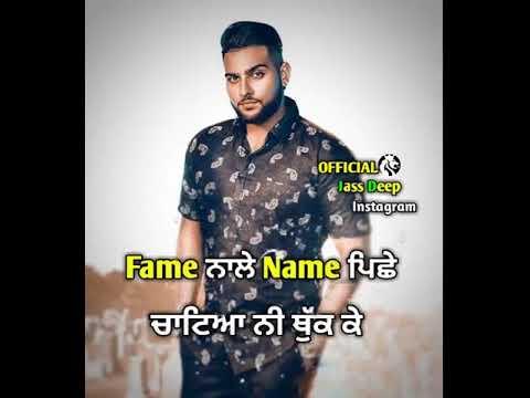 Tu Kra Luk K Jatt Kra Buk K Punjabi Song Status