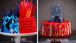 3 Amazing Game of Thrones Fantasy Cakes!!   Magical Cakes, Cupcakes and More by So Yummy