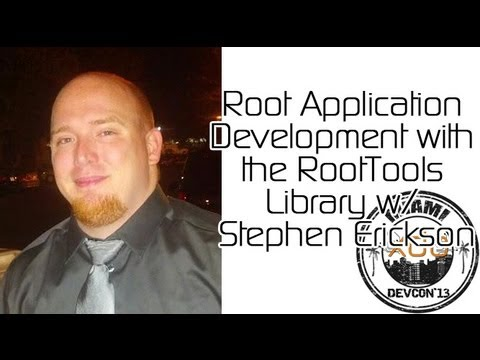 Root Application Development With The RootTools Library w/ Stephen Erickson from XDA:DevCon 2013