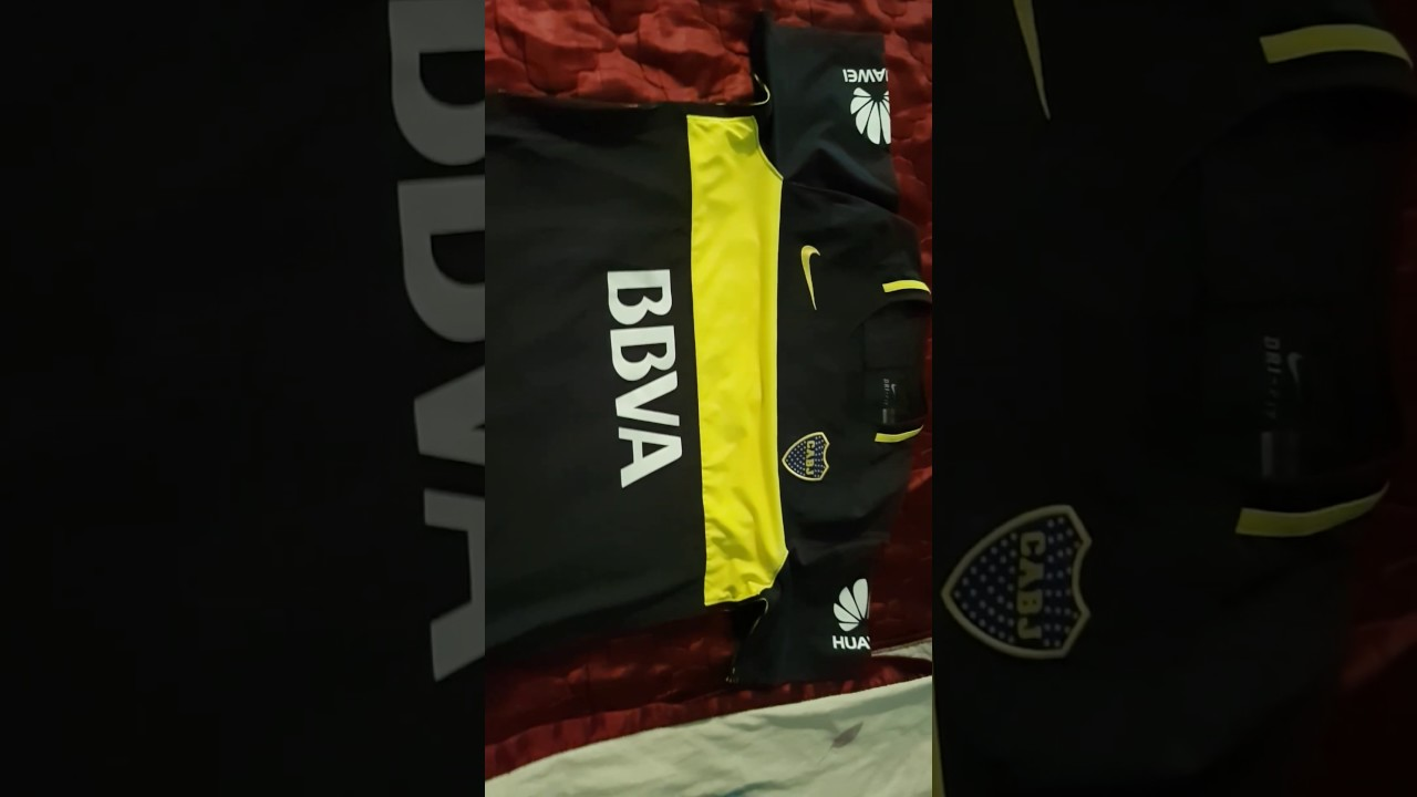 Camiseta boca 2016 titular match - YouTube 245607421f479