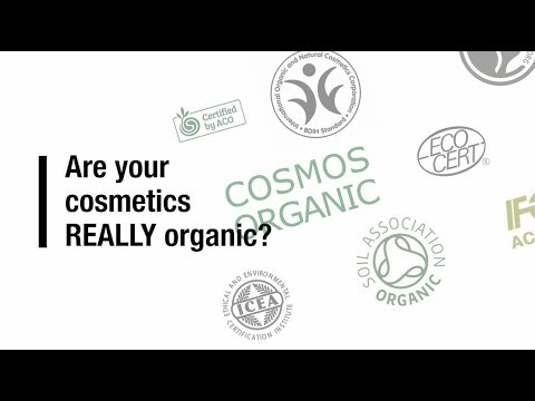 Are Your Cosmetics REALLY Organic