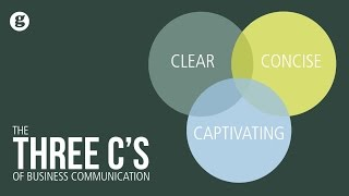 Three C's of Business Communication