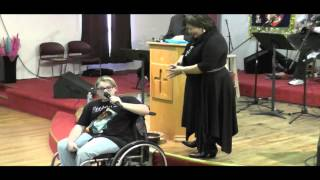 Wheelchair Miracle! JESUS HEALS!