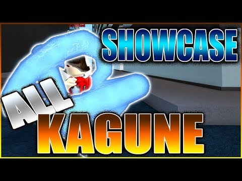 [Ro-Ghoul] - ALL KAGUNES IN THE GAME! (SHOWCASE)