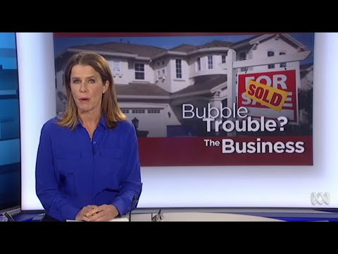Property bubble bursting will crash Australian economy?