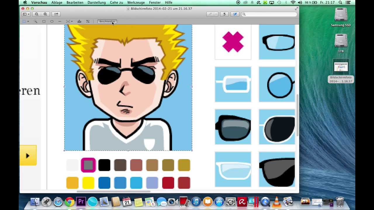 avatar comicfigur wie gronkh erstellen hd youtube. Black Bedroom Furniture Sets. Home Design Ideas