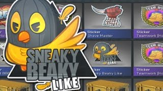 CSGO STICKER OPENING - SNEAKY BEAKY LIKE