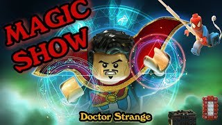 Lego Superhero IRON MAN & Dr.Strange's Magic Show