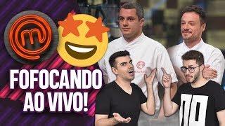 LIVE: COMENTANDO A SEMI FINAL DO MASTERCHEF PROFISSIONAIS 2018! | Virou Festa