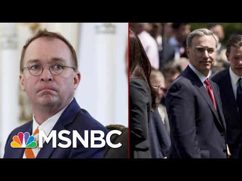 White House Infighting Ahead Of Public Testimony | Deadline | MSNBC