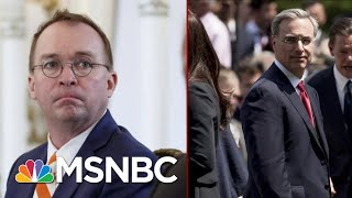 White House Infighting Ahead Of Public Testimony | Deadline | MSNBC
