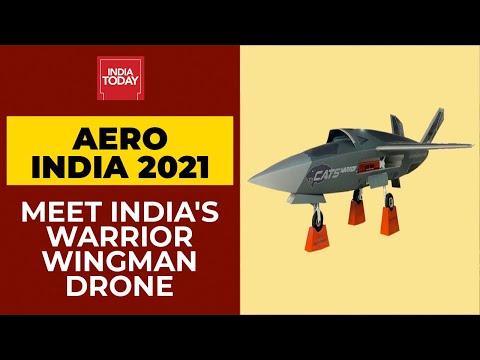 Aero India 2021: Meet India's Very Own 'Warrior' Wingman Drone | India Today's Ground Report