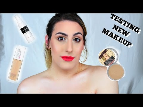 Testing NEW Makeup Products | HUGE ANNOUNCEMENT