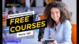 Happy New Year 2019 New Year New Opportunity Contest Free Courses From Simplilearn Simplilearn