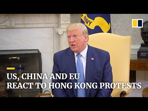 Trump says Xi Jinping 'acted responsibly' in Hong Kong protests