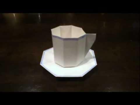 簡単 折り紙:折り紙 コップ 折り方-youtube.com