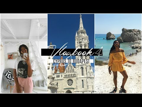 SUMMER VLOGBOOK 🌎✨ |  From Cyprus   ⌲  Hungary